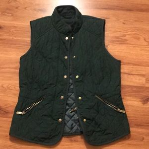 Zara thin quilted vest